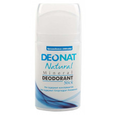 Минеральный дезодорант   ЧИСТЫЙ RELAX    овальный кристалл   100g DeoNat