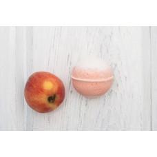 Бурлящий шарик для ванны  ПЕРСИКОВЫЙ СОРБЕТ  персик, абрикос  120g Кафе Красоты