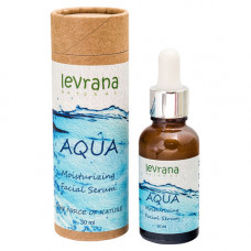 Увлажняющая сыворотка для лица   AQUA   мгновенный лифтинг   30ml Levrana