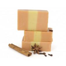 Натуральное мыло ручной работы  ПРЯНЫЙ ГЛИНТВЕЙН  для всех типов кожи, очищает, тонизирует, оказывает бактерицидное действие  100g СпивакЪ
