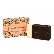 Натуральное мыло ручной работы  ГОРЬКИЙ ШОКОЛАД  улучшает кровообращение, тонизирует, препятствует старению  в подарочной упаковке   100g СпивакЪ